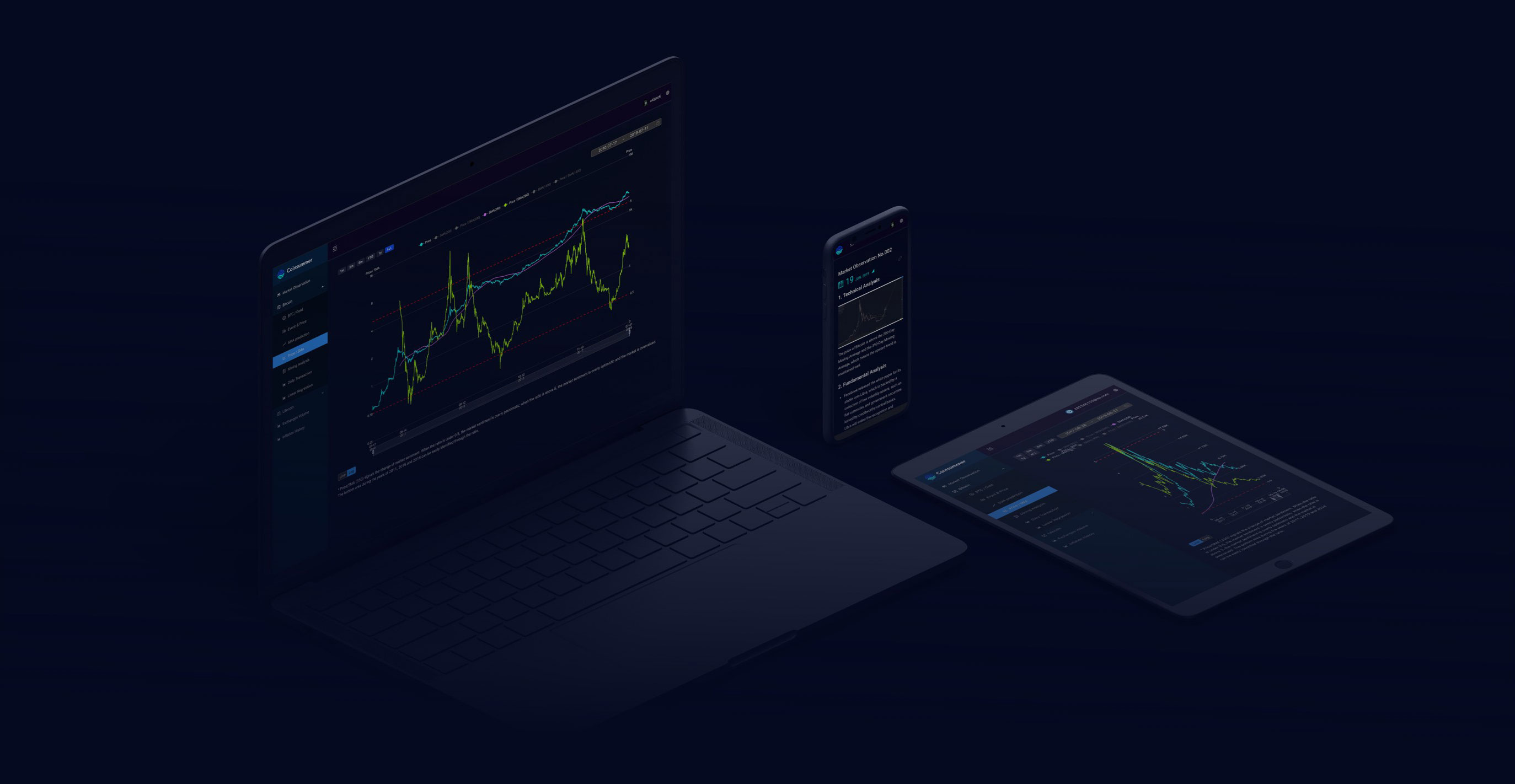 Your home for cryptocurrency observation & market data